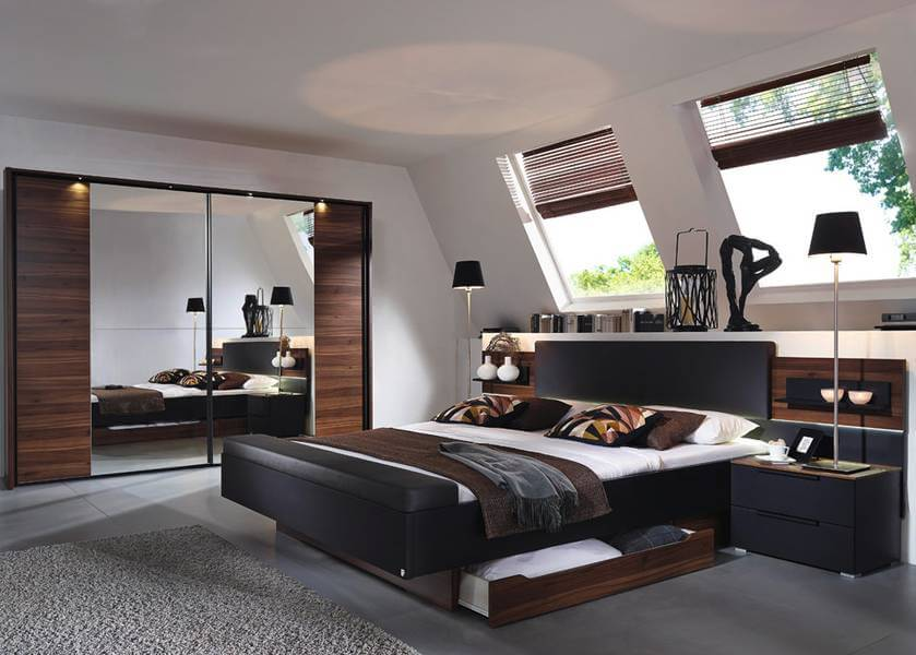 schlafzimmer amado von steffen. Black Bedroom Furniture Sets. Home Design Ideas