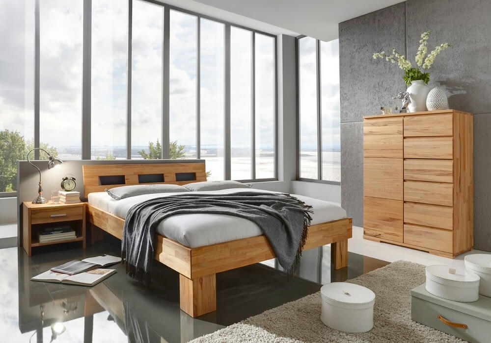 schlafen bettrahmen system gamma von m h. Black Bedroom Furniture Sets. Home Design Ideas