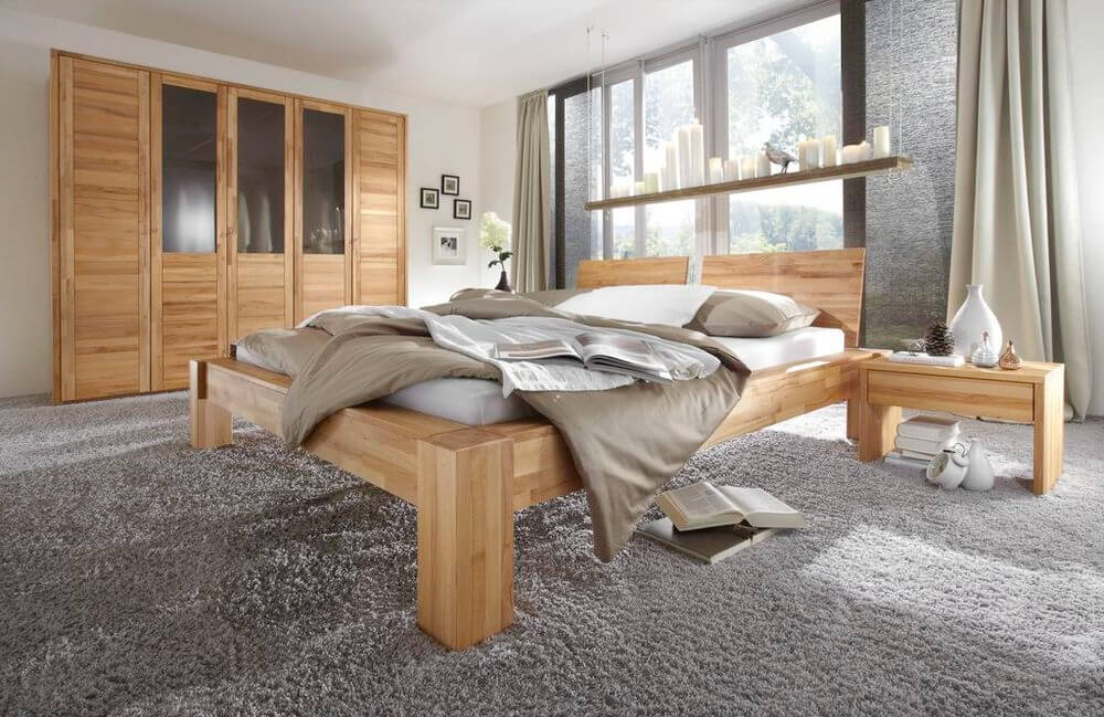 schlafen bettrahmen herkules von m h. Black Bedroom Furniture Sets. Home Design Ideas