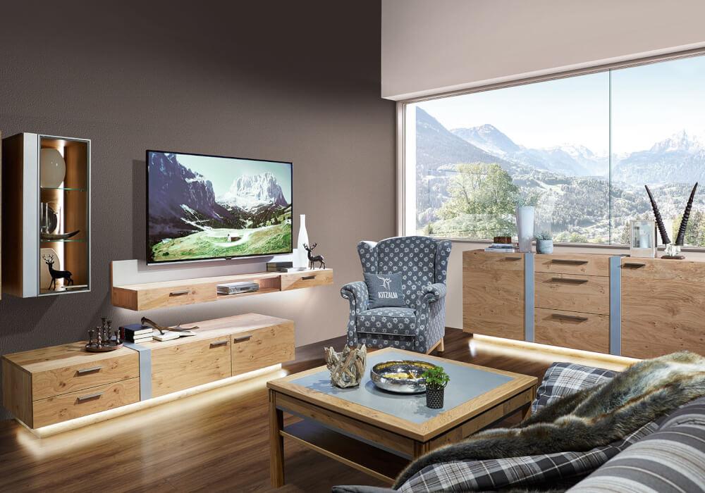 wohnen kitzalm montana alpin von schr der. Black Bedroom Furniture Sets. Home Design Ideas